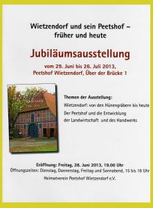 Broschüre zur Jubiläumsausstellung