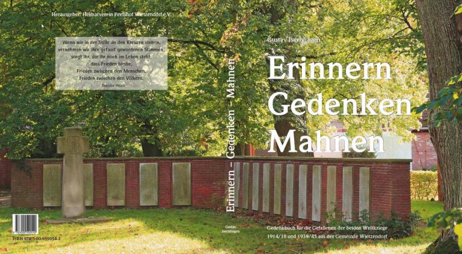 Gedenkbuch Umschlag